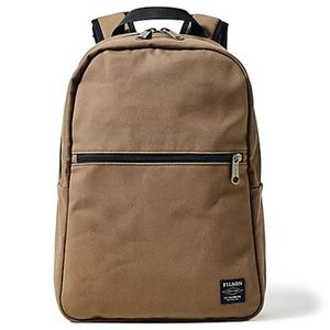 FILSON Rugged Twill Bandera Backpack in Tan Unisex